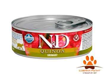 Farmina N&D Cat Quinoa Wet Urinary 80г