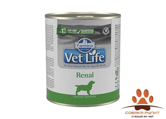 Farmina N&D Vet Life Wet Dog Renal 300г