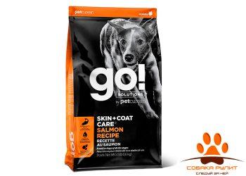 Корм GO! для щенков и собак, со свежим лососем и овсянкой