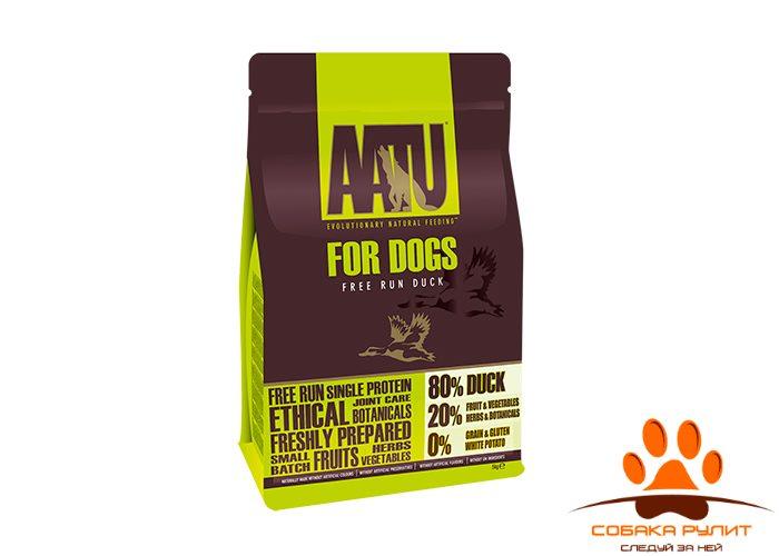 Корм AATU корм для взрослых собак с уткой, AATU 80/20 DUCK