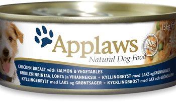 Applaws Консервы для собак Курица с лососем и овощами, 156г