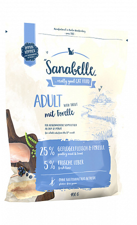 Sanabelle Adult Сухой корм для кошек с форелью