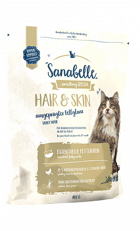 Sanabelle Hair&Skin Сухой корм для кошек, для кожи и шерсти