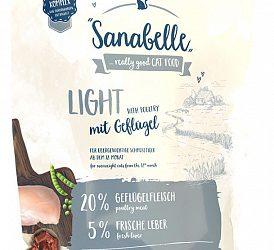 Sanabelle Light низкокалорийный корм для кошек с избыточным весом