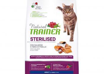 Trainer Natural Cat Adult Sterilised – Salmon