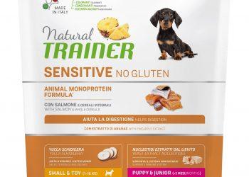 Natural Trainer Sensitive No Gluten Puppy&Junior Mini – Salmon 800г