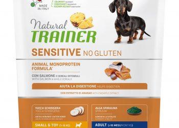 Natural Trainer Sensitive No Gluten Mini Adult Dog – Salmon 800г