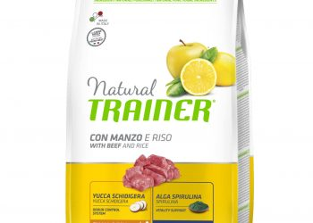 Trainer Natural Dog Small & Toy – Beef and Rice