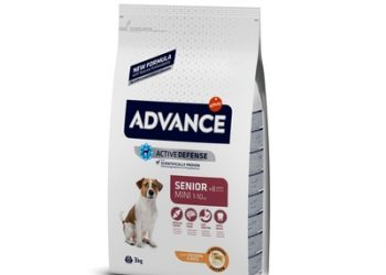 Advance корм для пожилых собак малых пород с курицей и рисом, Mini Senior 3кг