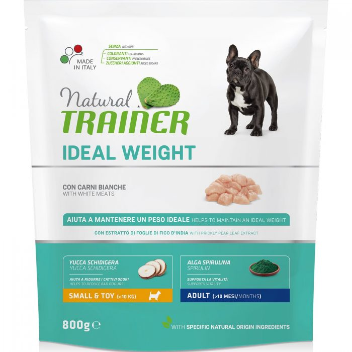 Natural Trainer Ideal Weight Mini – White Meat