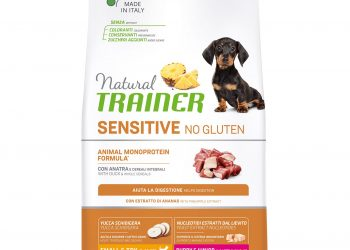 Natural Trainer Sensitive No Gluten Puppy&Junior Mini Duck 2кг