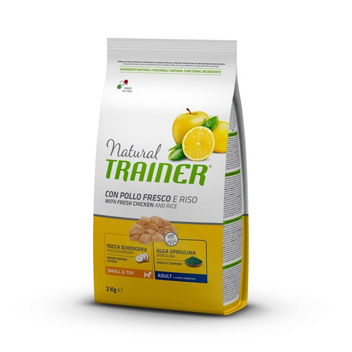 Trainer Natural Dog Small & Toy Light – Fresh White Meats 800г