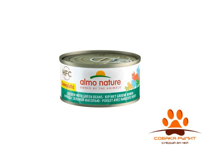 Almo Nature полнорационные консервы для кошек, Complete 70г (в ассортименте)