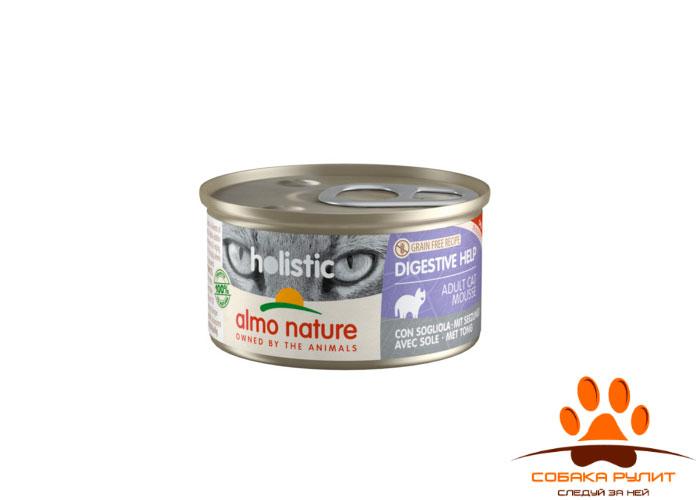 Almo Nature консервы с индейкой для кошек с чувствительным пищеварением (в ассортименте)