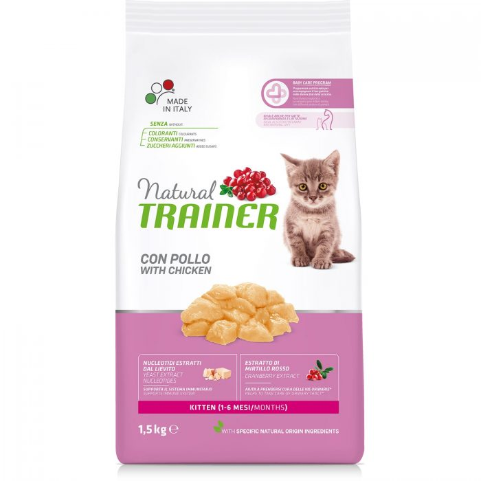 Trainer Natural Kitten – Fresh Chicken