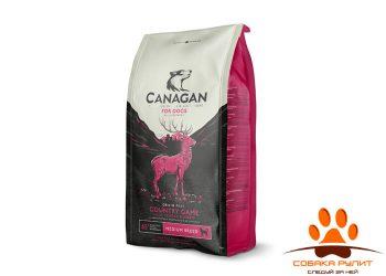 CANAGAN Grain Free, Country Game, корм  для собак всех возрастов и щенков, Дичь
