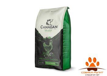 CANAGAN Grain Free, Free-Range Chicken, корм  для собак всех возрастов и щенков, Цыпленок