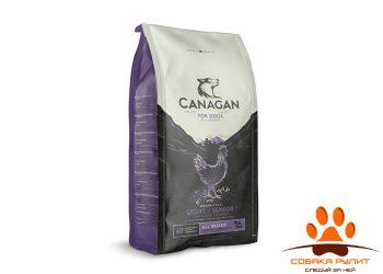 CANAGAN Grain Free, Light/Senior, корм  для пожилых собак и собак с избыточной массой тела, Цыпленок