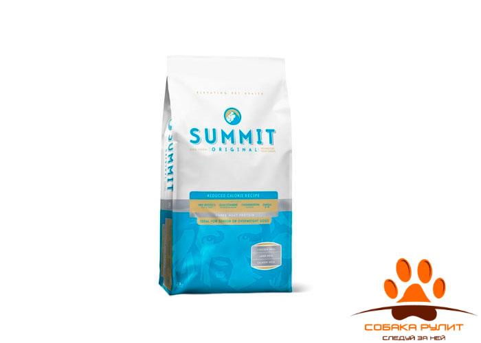 Корм Summit для собак три вида мяса с цыпленком, ягненком и лососем, контроль веса