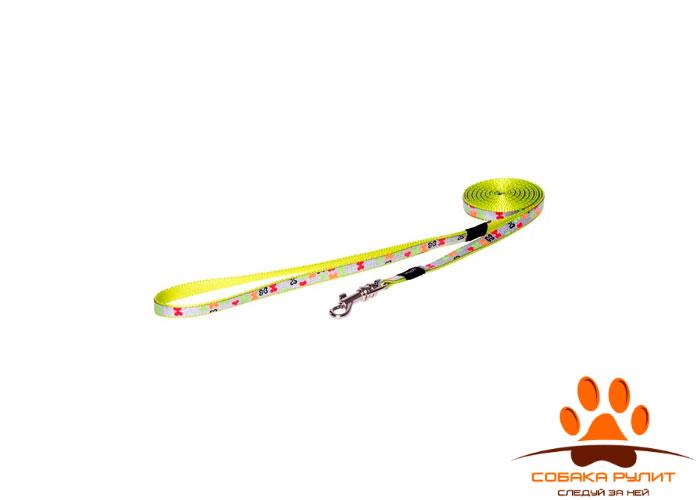 Rogz удлиненный поводок для собак малых пород