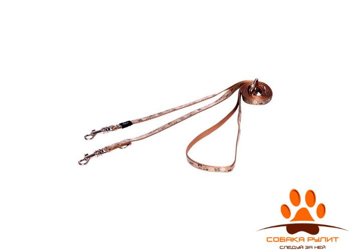 Rogz поводок-перестежка для собак малых пород