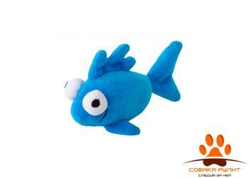 Rogz игрушка для кошек плюшевая рыбка с кошачьей мятой