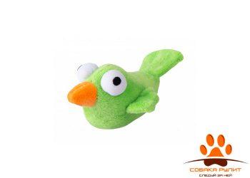 Rogz игрушка для кошек: плюшевая птичка с кошачьей мятой