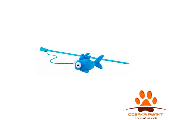 Rogz плюшевая игрушка-дразнилка Flossy Grinz с кошачьей мятой