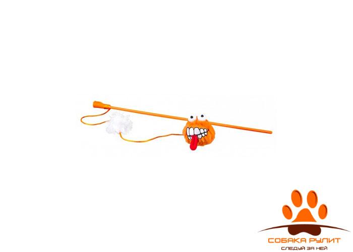 Rogz плюшевый мячик Fluffy Grinz с кошачьей мятой