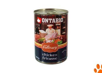 """Ontario консервы для собак """"Куриное фрикасе"""""""
