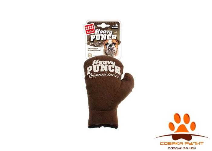 GiGwi боксерская перчатка, игрушка с пищалкой, 23 см