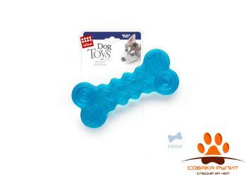 GiGwi игрушка резиновая косточка