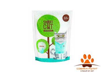 Smart Cat наполнитель силикагелевый наполнитель с ароматом ментола