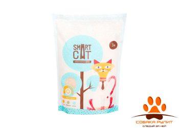 Smart Cat наполнитель силикагелевый с pH индикатором, 3л