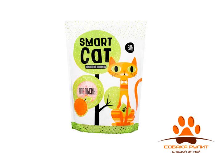 Smart Cat наполнитель силикагелевый наполнитель с ароматом апельсина