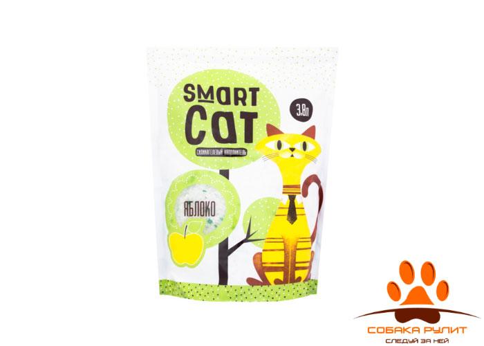 Smart Cat наполнитель силикагелевый наполнитель с ароматом яблока