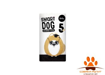 Smart Dog Пелёнки впитывающие пеленки для собак 60х40, 5 шт