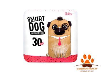 Smart Dog Пелёнки впитывающие пеленки для собак 60х90, 30 шт
