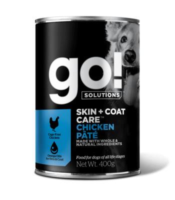 Go! консервы с курицей для собак всех возрастов, GO! Chicken Pate DF