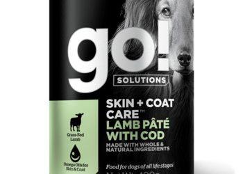 Go! консервы с ягненком и треской для собак всех возрастов, GO! Skin + Coat Lamb Pate with Cod DF