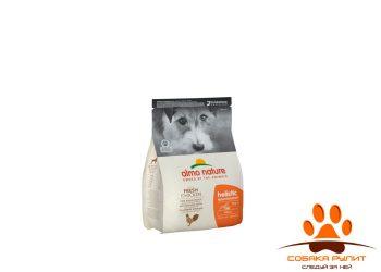 Корм Almo Nature для взрослых собак малых пород, с говядиной