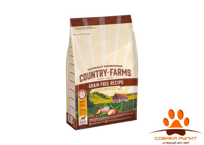 Country Farms беззерновой. Полнорационный корм для щенков, с высоким содержанием курицы