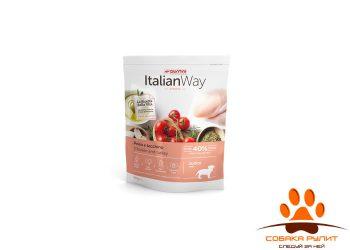 Italian Way беззерновой, для собак малых пород с чувствительным пищеварением, со свежей уткой, Mini Sensitive Duck