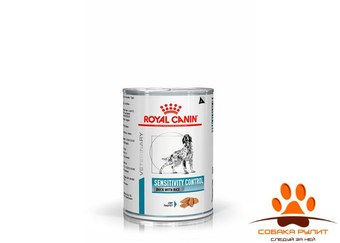 Sensitivity Control Canine Duck with Rice (паштет)