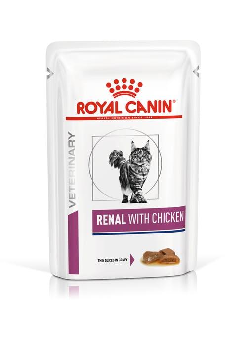 Renal с курицей (в соусе)
