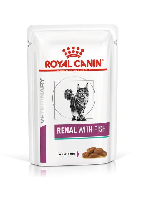 Renal с рыбой (в соусе)