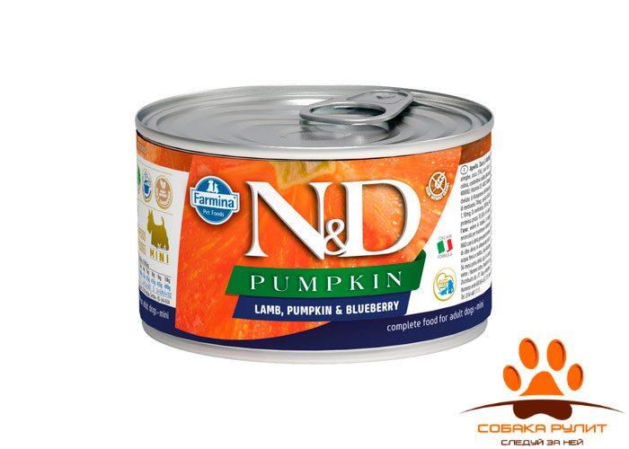ND Dog Chicken & Pumpkin & Pomegranate Puppy Mini