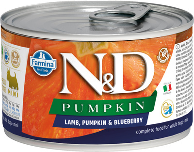 N&D Dog Lamb & Pumpkin & Blueberry Starter Mini
