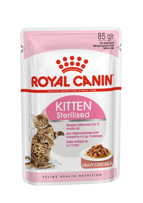 Kitten Sterilised (в соусе)