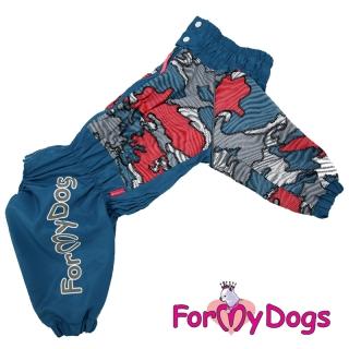 FMD дождевик Комуфляж голубой для мальчиков
